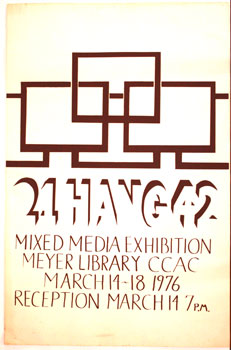 CCAC. Mixed Media Exhibition. Meyer Library. CCAC Artist.