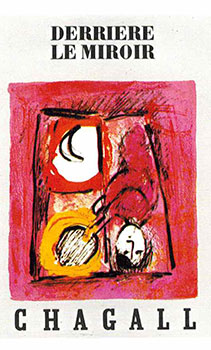 Cover for DLM 99-100. The Window. Marc Chagall.
