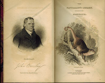 The Naturalist's Library. Vol. XXIV. Mammalia. Marsupialia ot Pouched Animals. Original Edition. William Sir Jardine, W. H. Lizars, engraver, Charles Hamilton Smith, , illustr., James Stewart, , illustr.