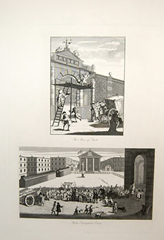 """The Man of Taste"" and ""Rich's Triumphant Entry"" William Hogarth, After., James Heath."