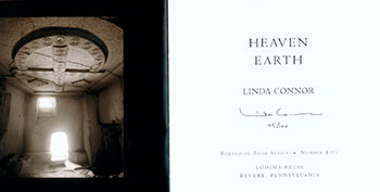 Heaven - Earth. Limited Edition. Signed. Linda Connor.