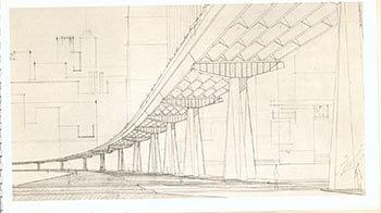 Steel Elevated Freeways by Pier Luigi Nervi. Pier Luigi Nervi.