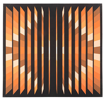Kaleidoscope Delight. Victor Vasarely, In Style of.