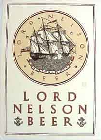 Lord Nelson Beer [poster]. David Lance Goines.