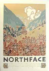 Northface. (Mountains). David Lance Goines.