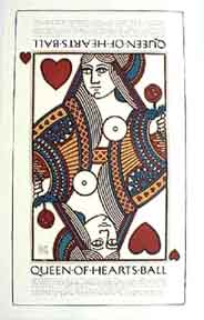 Queen of Hearts [poster]. David Lance Goines.
