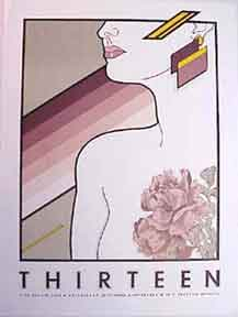 Thirteen [poster]. David Lance Goines.