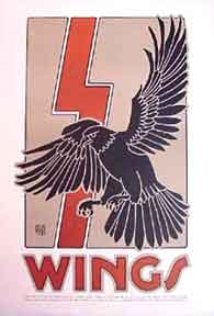 Wings [poster]. David Lance Goines.