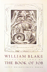 Illustrations of The Book of Job (after William Blake) [poster]. David Lance Goines.