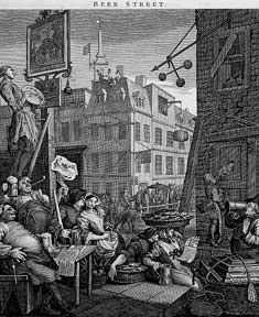 Beer Street. William Hogarth.