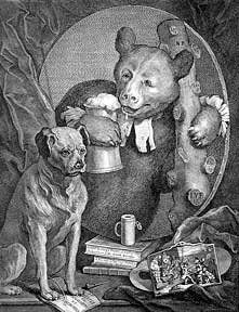The Bruiser, a plate from The Works of William Hogarth from the Original Plates restored by James Heath, &c. William Hogarth.
