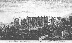 A View of Rose Castle, Seat of the Bishop of Carlisle,Cumberland. Anonymous.