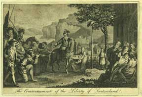 The Commencement of the Liberty of Switzerland. Anonymous.