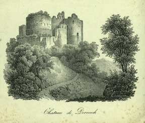 Chateau de Dornach. Anonymous.
