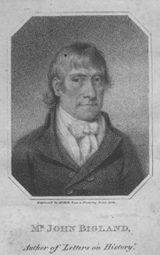 Collection of Engravings of British Notables and Churchmen, including John Bigland and John Overall. Benoist Holl.