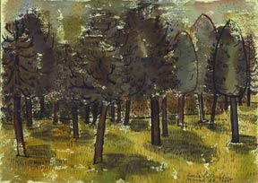 Grove of Trees. Doris Miller Johnson.
