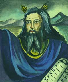 Moses the Law Giver. Allen Bennett, a. k. a. Allen Pencovic.