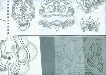 Tattoo Designs by various artists from the Tattoo Archive. Tattoo Archive, NC Winston Salem.