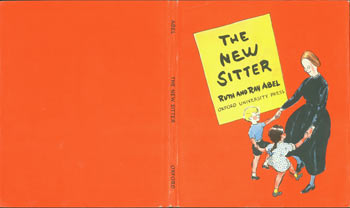 Dust Jacket only for The New Sitter. Ruth and Ray Abel.