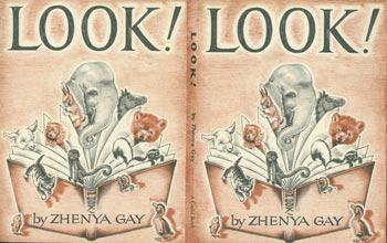 Dust Jacket only for Look! Zhenya Gay.