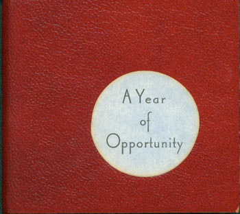 A Year Of Opportunity. Juniper Von Phitzer Press, Lloyd L. Neilson, Marvin Hiemstra.