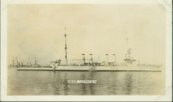 USS Marblehead (CL-12). 20th Century American Photographer.