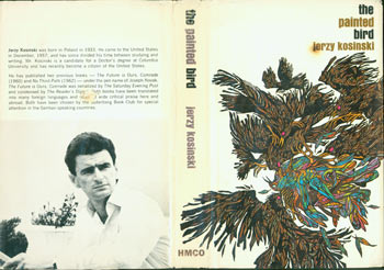 Dust Jacket for The Painted Bird. Jerzy Kosinski, Leo, Diane Dillon, illustr.