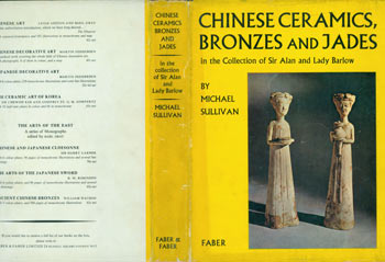 Dust Jacket only for Chinese Ceramics, Bronzes and Jades. Michael Sullivan.