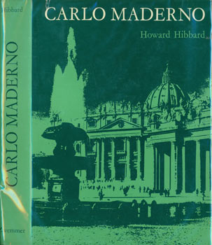 Dust Jacket only for Carlo Maderno And Roman Architecture 1580 - 1630 (First Edition). Howard Hibbard.