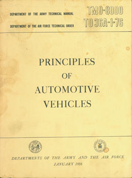principles of automotive vehicles department of the army technical rh art books com air force technical manual for mc 6 parachute air force technical manual 14p3-5-111