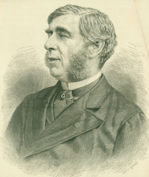 The Right Honorable George J. Goschen, The New Chancellor of the Exchequer. The Illustrated London News, R. Taylor, engrav.