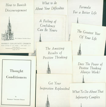 Norman Vincent Peale Pamphlets. Norman Vincent Peale, Marble Collegiate Church, Foundation for Christian Living.