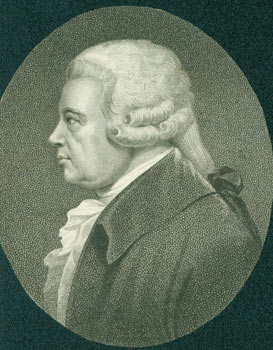 Engraving: Ralph Griffiths (ca. 1720 - 1803). James Asperne, William Ridley, Engraver.