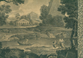 The Flight Into Egypt. rne, After Domenichino John Boydell, print, 1719 - 1804, publ.