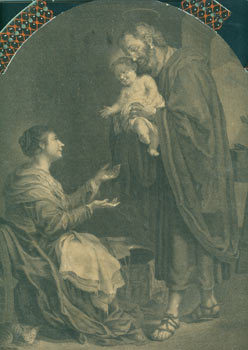 The Holy Family. Thomas Chambers, After Murillo John Boydell, engrav., 1719 - 1804, publ.