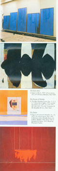 Robert Motherwell: In His Own Words. Exhibition Catalogue. Buffalo Fine Arts Academy, Robert Motherwell.