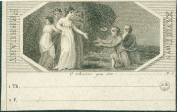 O Whoever You Are. 18th Century British Engraver.