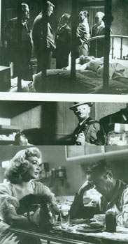 Promotional B&W Photographs for The Killing, featuring Sterling Hayden. United Artists, Stanley Kubrick.