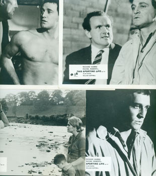 Promotional B&W Photographs for This Sporting Life, featuring Richard Harris. Rank Organisation.