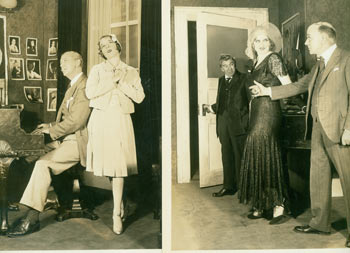 Promotional B&W Photographs for Song Without End, featuring Dirk Bogarde & Capucine. Vandamm Studio, NY.