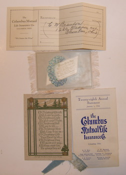 Twenty-eighth Annual Statement, January 1, 1936, & related material. Columbus Mutual Life Insurance Co.