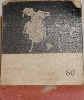Flip Book With Dancing Lady In White Dress. Gies, Co, NY Buffalo.