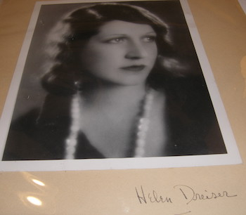 Helen Patges Richardson, aka Helen Dreiser, wife of Theodore Dreiser. 20th Century American Photographer.