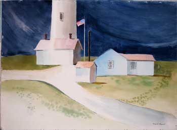 Point Arena Lighthouse. Richard F. Barrett.