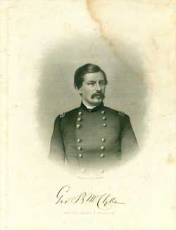 Major-General George B. McClellan. J. C. Buttre.