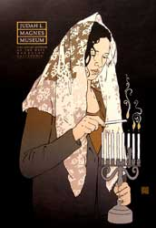 Judah L. Magnes Museum (Woman in shawl lighting the Hanukah Menorah) [poster]. David Lance Goines.