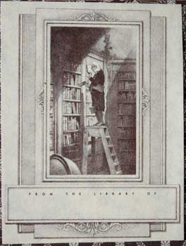"""Blank Bookplate: """"From the Library of..."""" Anonymous."""