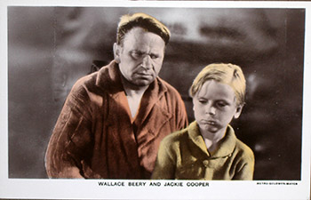 "Wallace Beery and Jackie Cooper. (Scene from the motion picture ""The Champ.""). 20th Century Photographer."