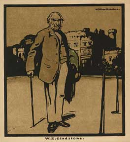 W. E. Gladstone. William Nicholson