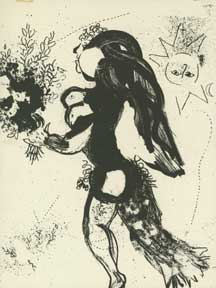 The Offering. Marc Chagall.